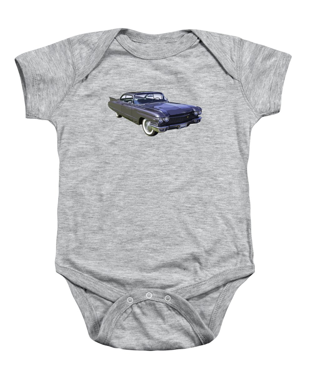 Car Baby Onesie featuring the photograph 1960 Cadillac - Classic Luxury Car by Keith Webber Jr