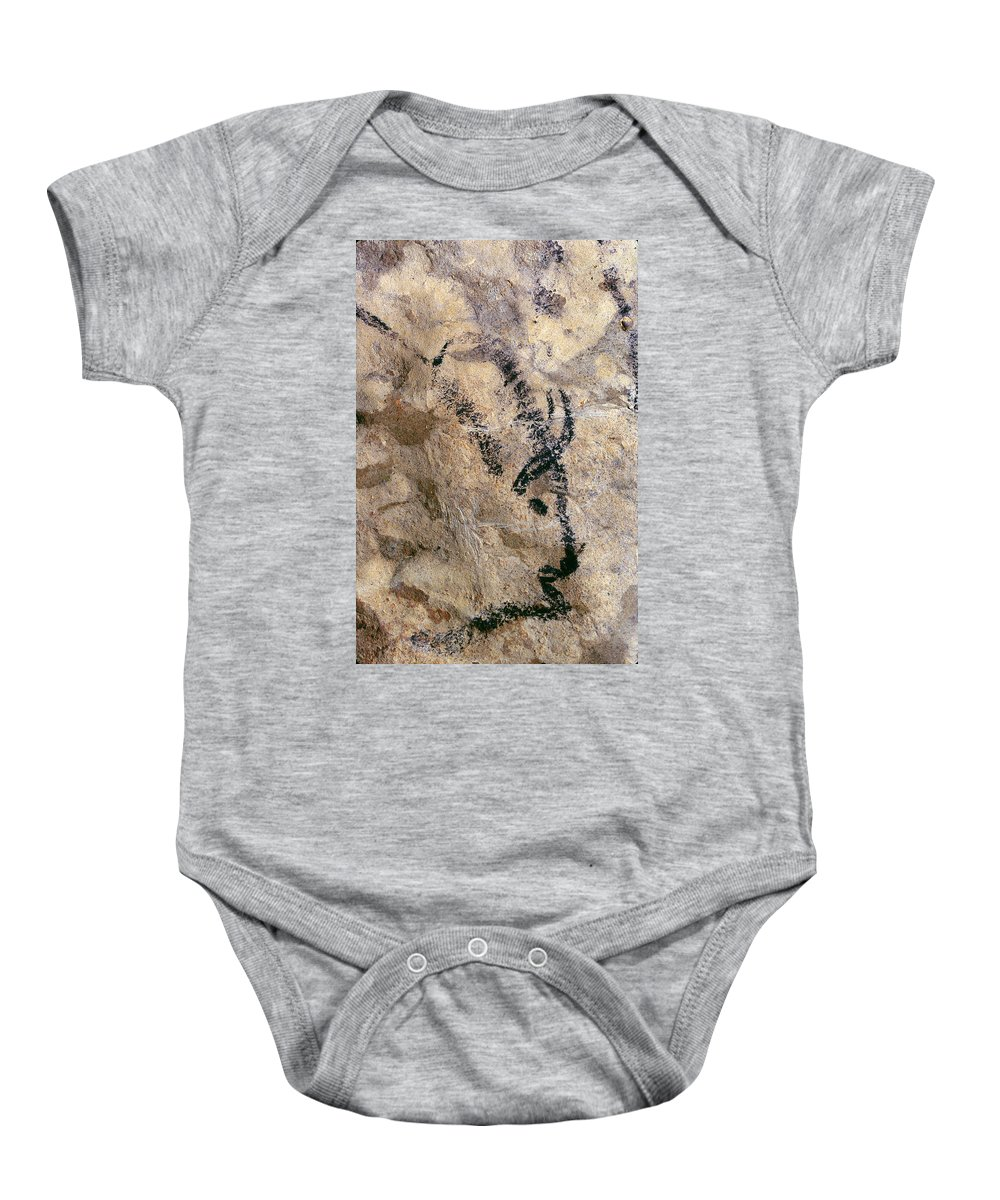 10 Baby Onesie featuring the photograph Cave Art: Bison by Granger