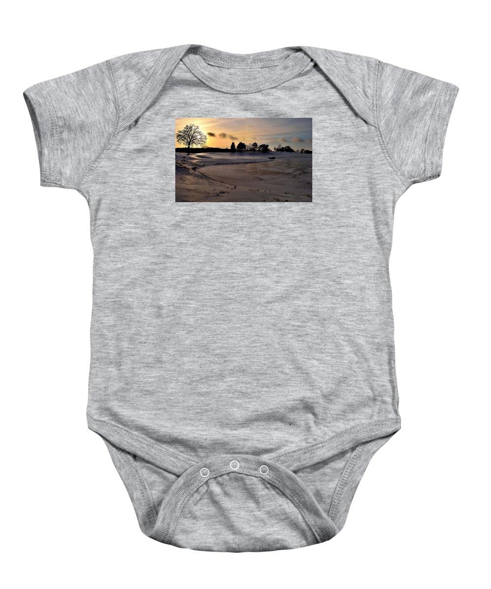 Baby Onesie featuring the photograph Ellis Park - Cedar Rapids, Ia by Sherri Hasley