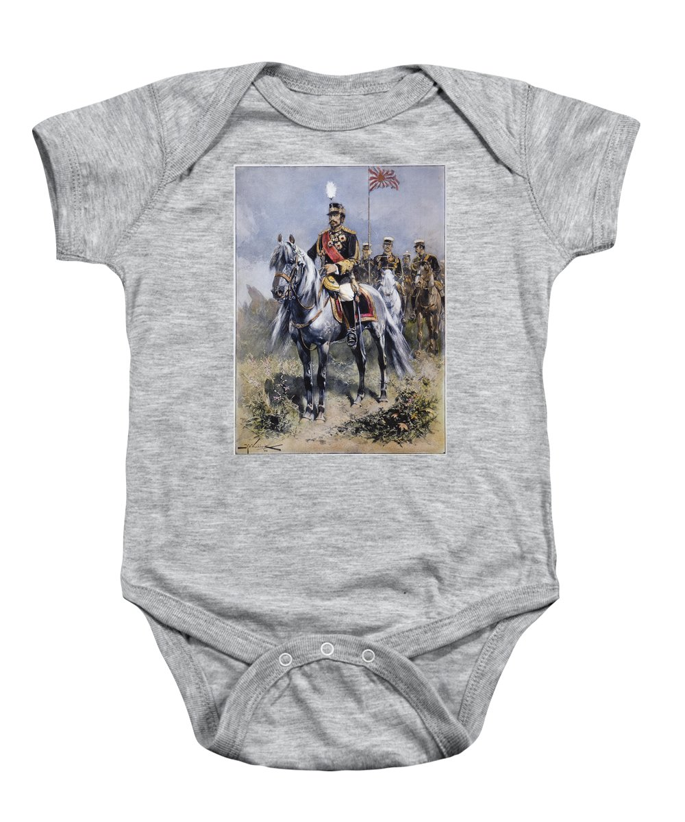 1904 Baby Onesie featuring the photograph Mutsuhito (1852-1912) by Granger