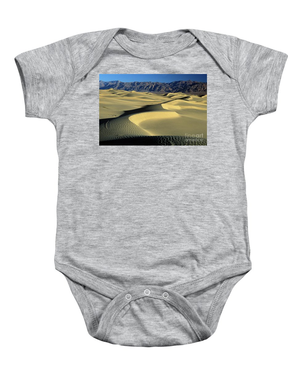 Sand Baby Onesie featuring the photograph Sand Dunes by Jim And Emily Bush