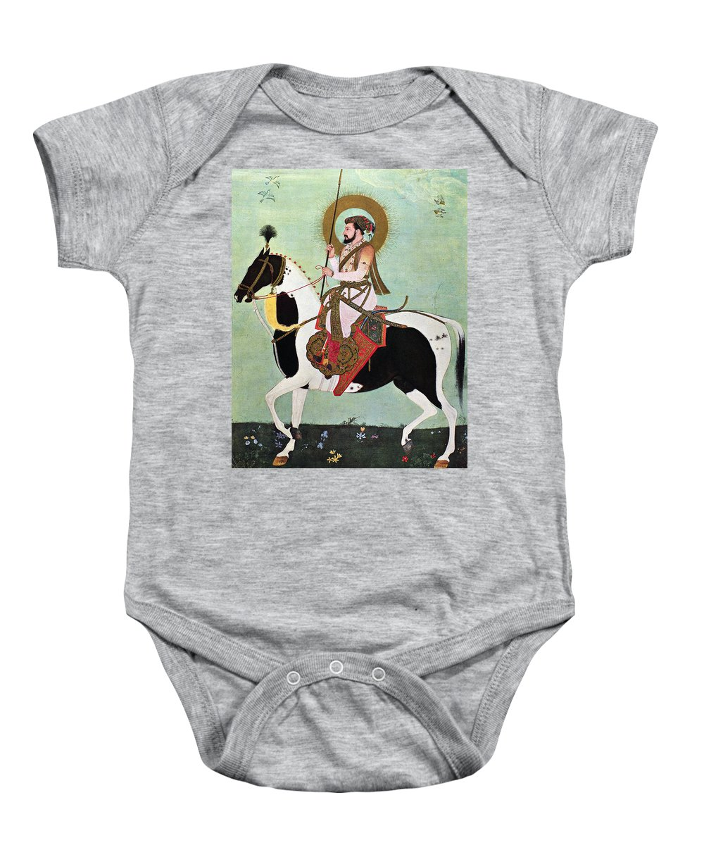 1634 Baby Onesie featuring the photograph Shah Jahan (1592-1666) by Granger