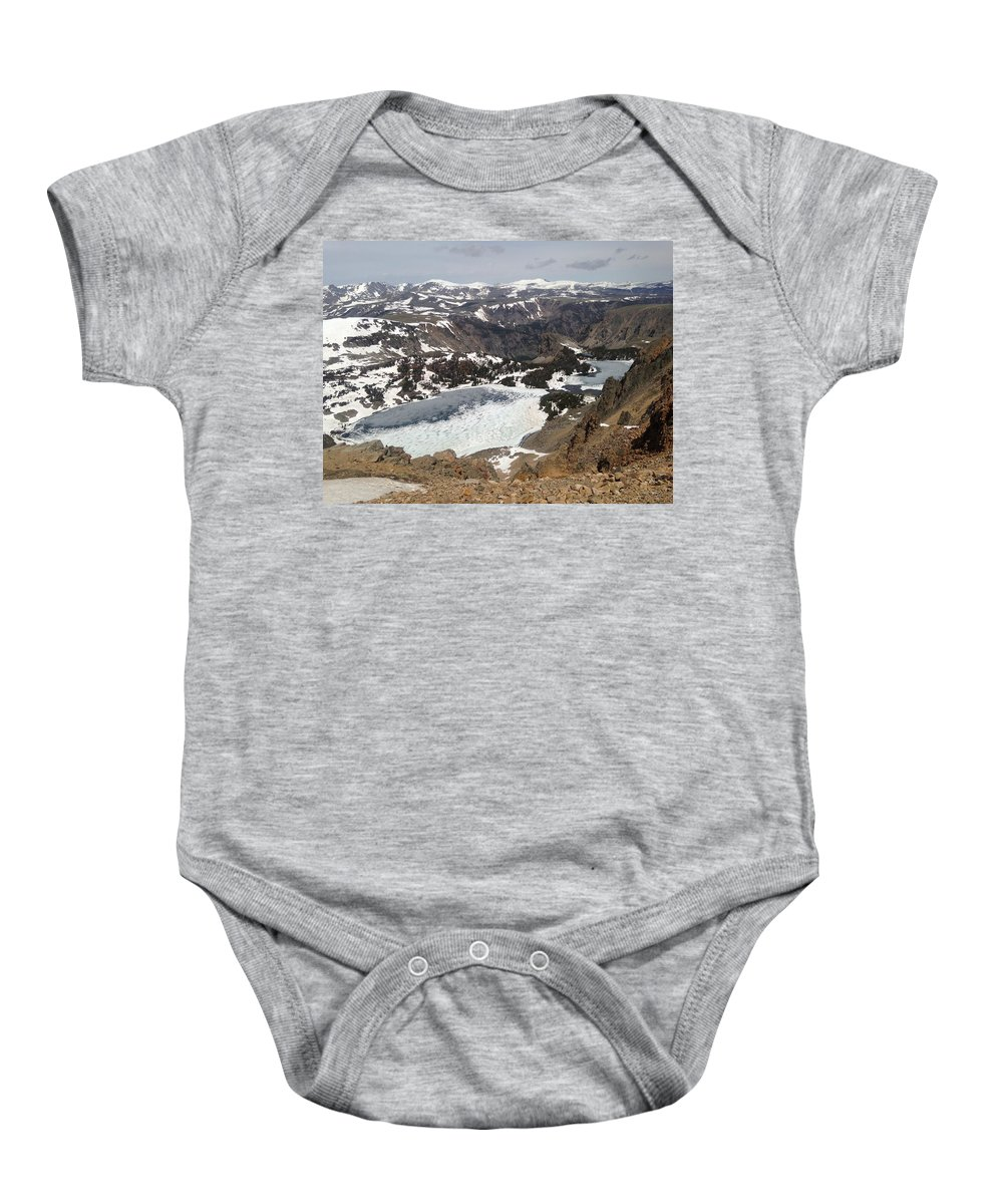 Snow Baby Onesie featuring the photograph Snow by Renee Giegoldt
