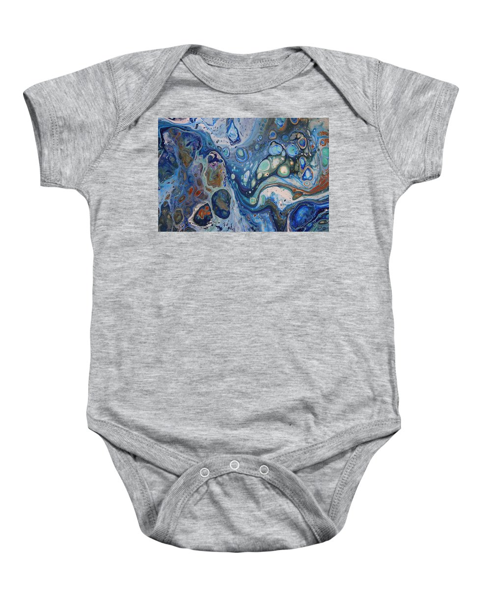 Baby Onesie featuring the painting Untitled by Joe Fomby