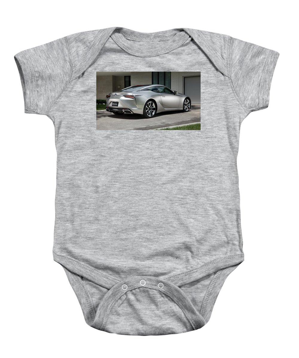 Baby Onesie featuring the digital art 2018 Lexus Lc 500h 4k 3 by Alice Kent