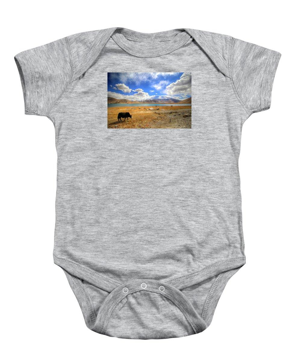 Xinjiang Province China Baby Onesie featuring the photograph Xinjiang Province China by Paul James Bannerman