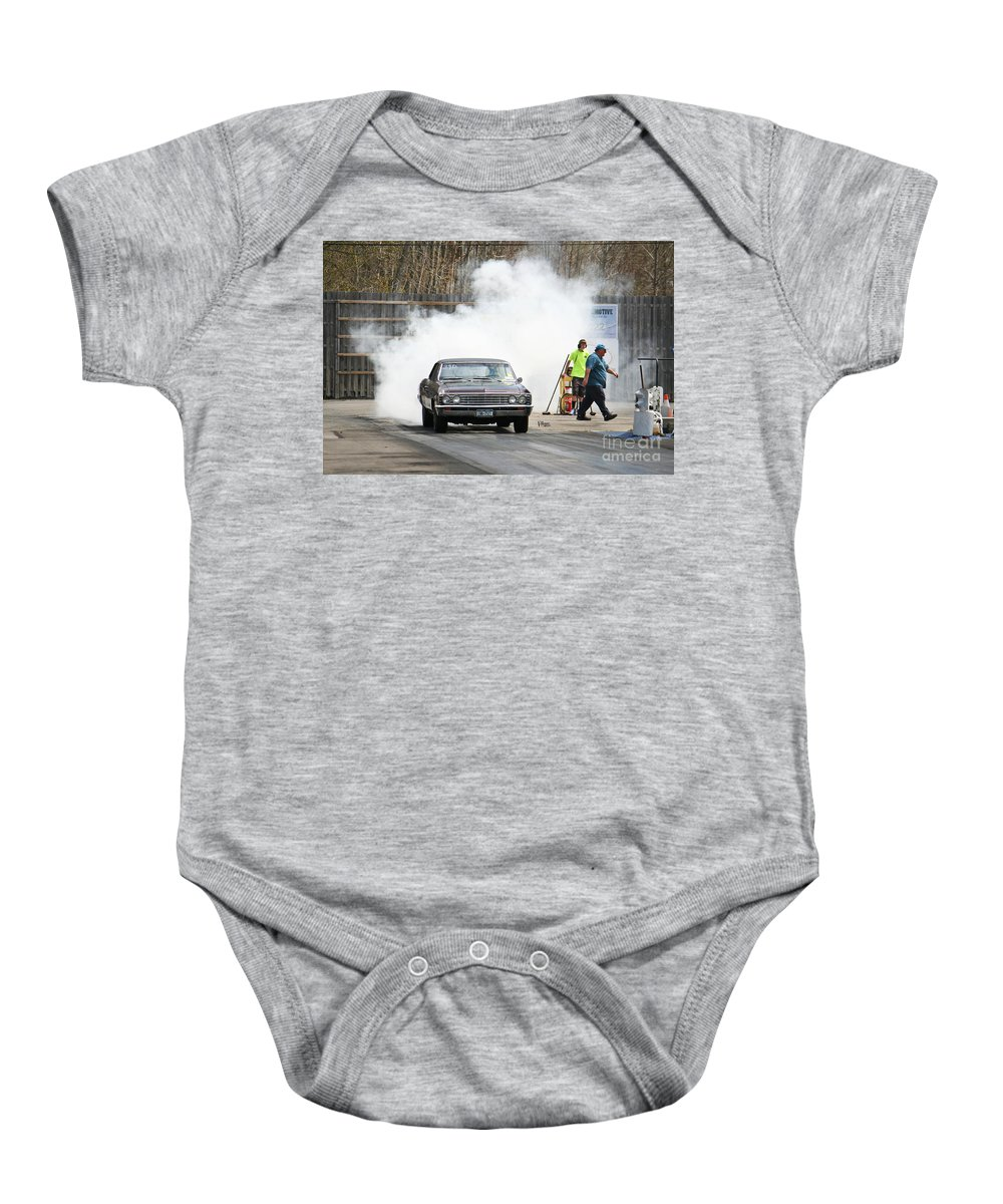 05-03-2015 Baby Onesie featuring the photograph 2995 05-03-2015 Esta Safety Park by Vicki Hopper