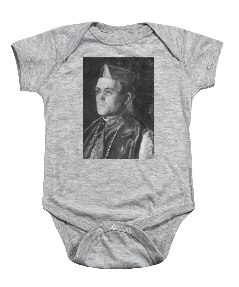 Portraits Baby Onesie featuring the painting Portraits by Eakins Thomas