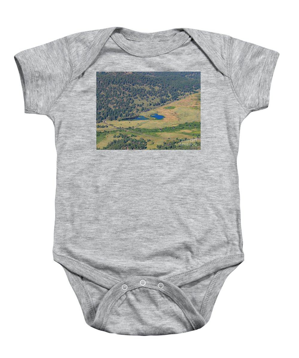 Colorado Baby Onesie featuring the photograph Superb Landscape In Rocky Mountain National Park by Chon Kit Leong