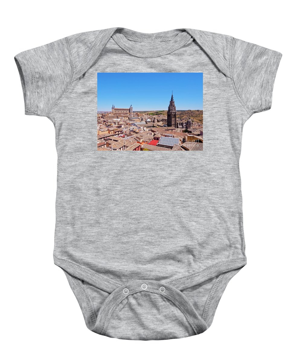 Spain Baby Onesie featuring the photograph Toledo, Spain by Karol Kozlowski