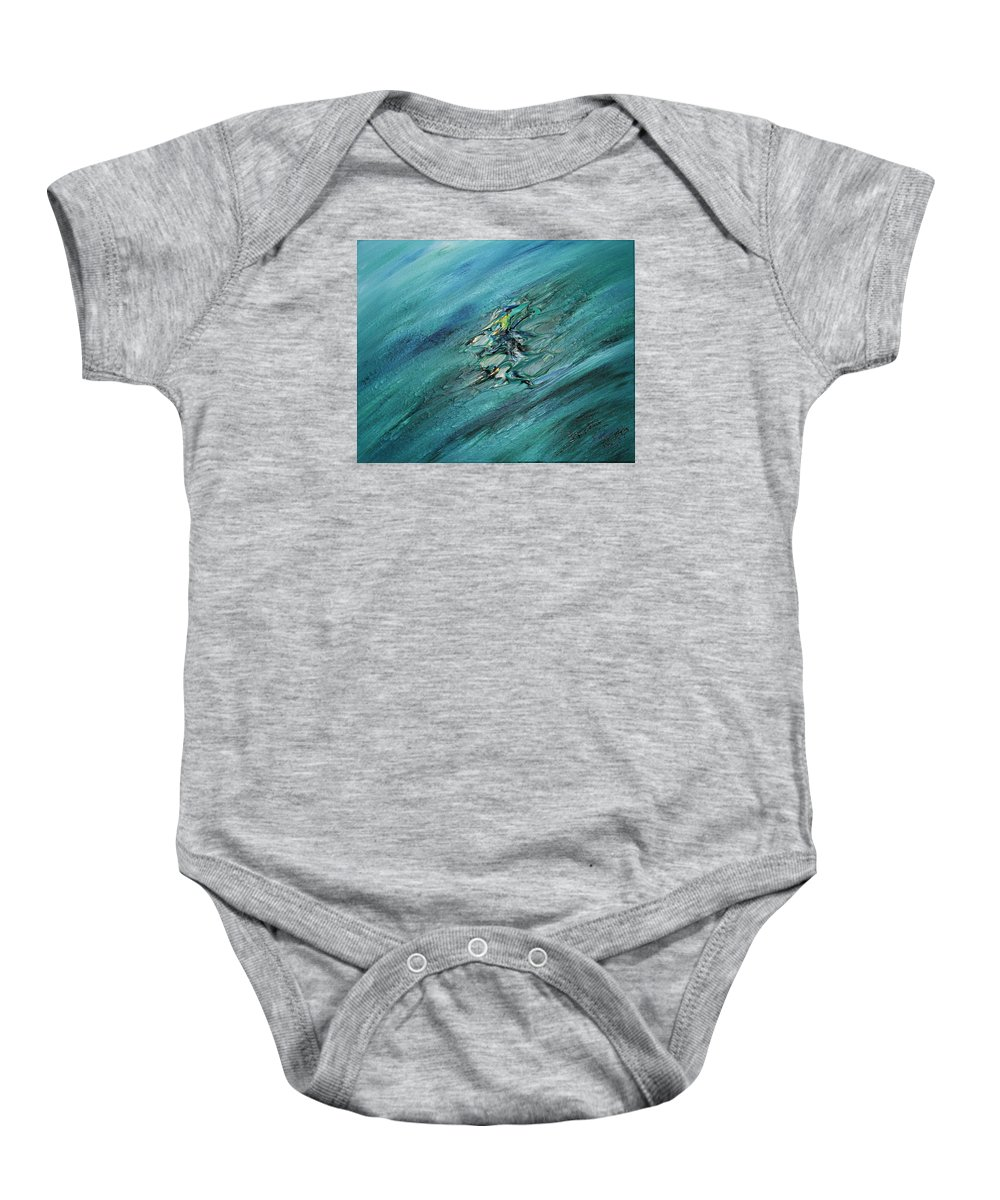Baby Onesie featuring the painting Masterpiece Collection by Brenda Basham Dothage
