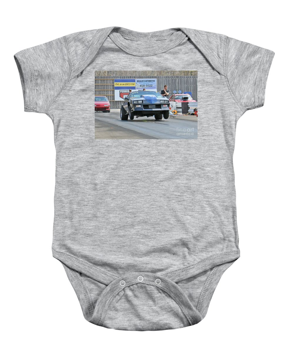 05-03-2015 Baby Onesie featuring the photograph 3045 05-03-2015 Esta Safety Park by Vicki Hopper
