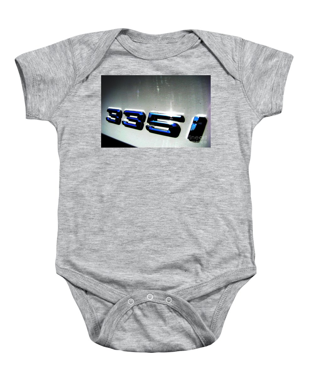 335i Baby Onesie featuring the photograph 335i by Amanda Barcon