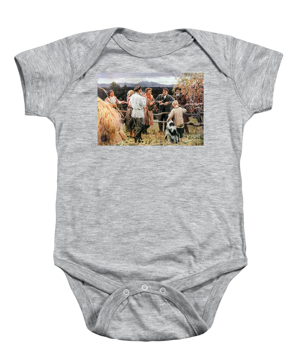 20th Century Baby Onesie featuring the photograph Vladimir Lenin (1870-1924) by Granger