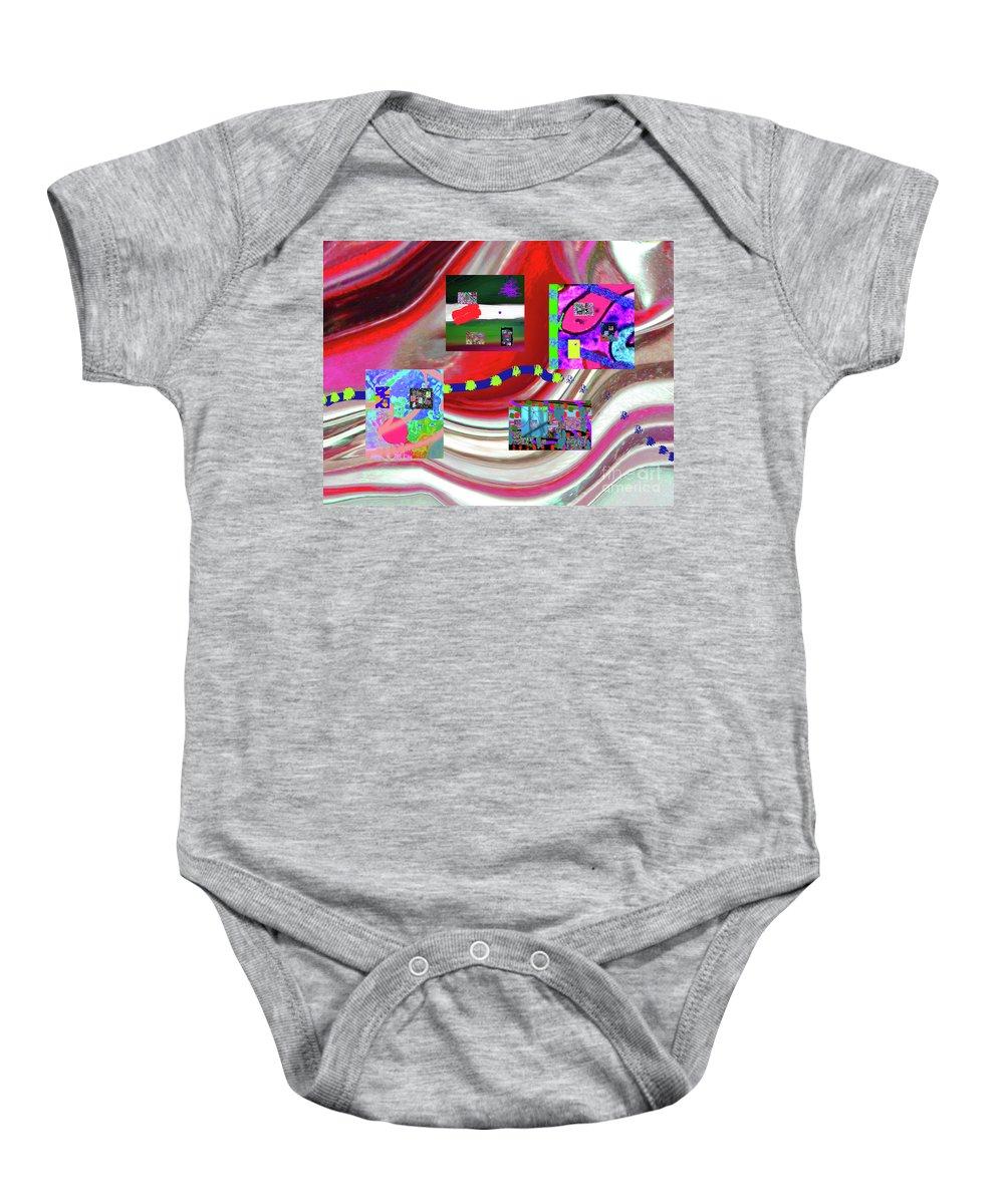 Walter Paul Bebirian Baby Onesie featuring the digital art 5-3-2015eabcdefghijklmnopqrtuvwxyzabcdefghi by Walter Paul Bebirian