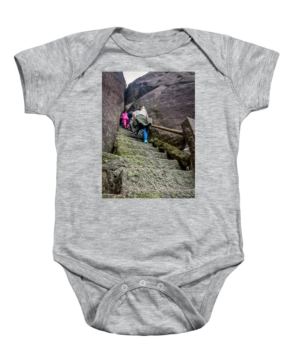 Anhui Province Baby Onesie featuring the photograph 5778- Yellow Mountains by David Lange