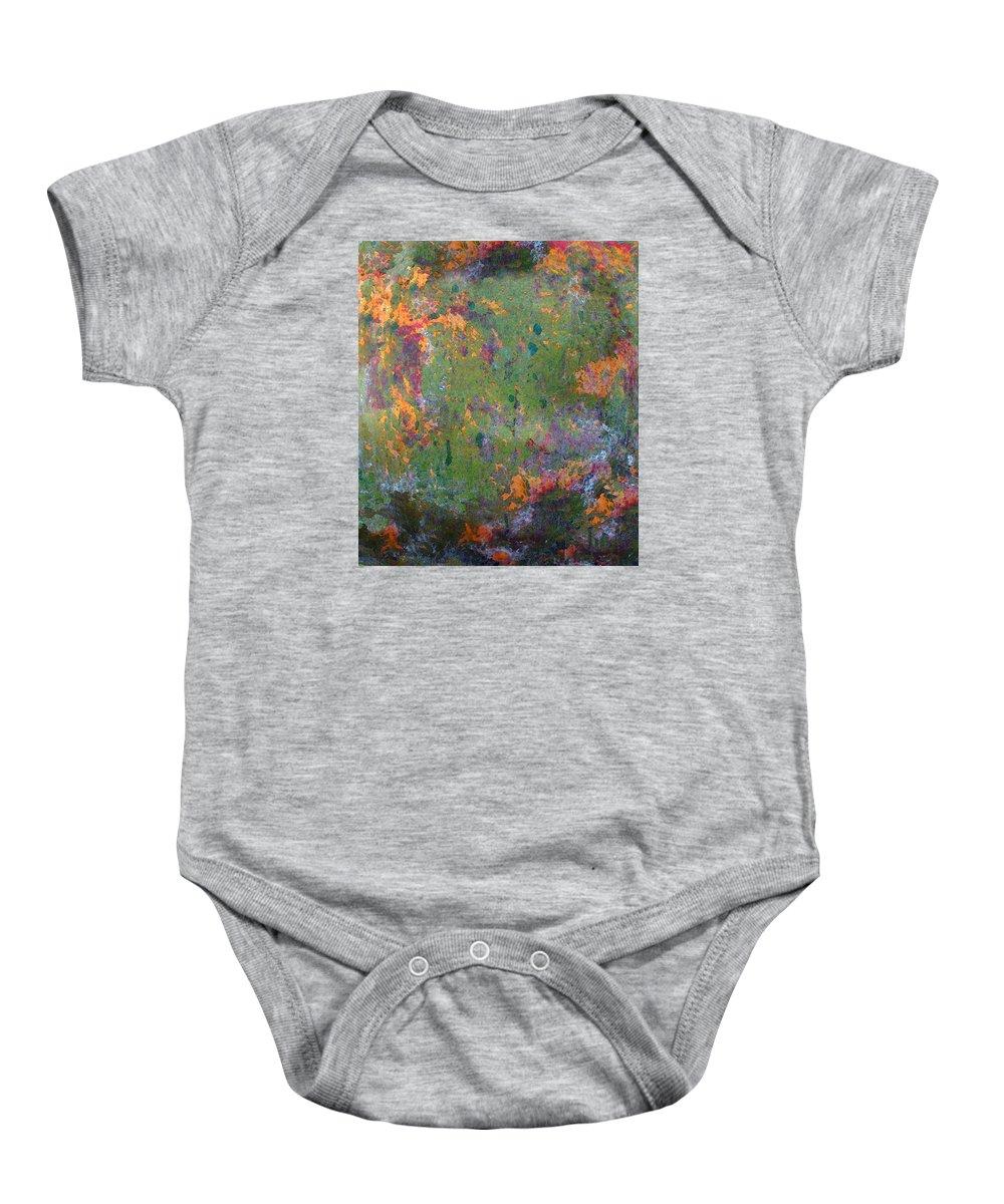 Cedric Hampton Baby Onesie featuring the photograph A Delightful Garden by Cedric Hampton