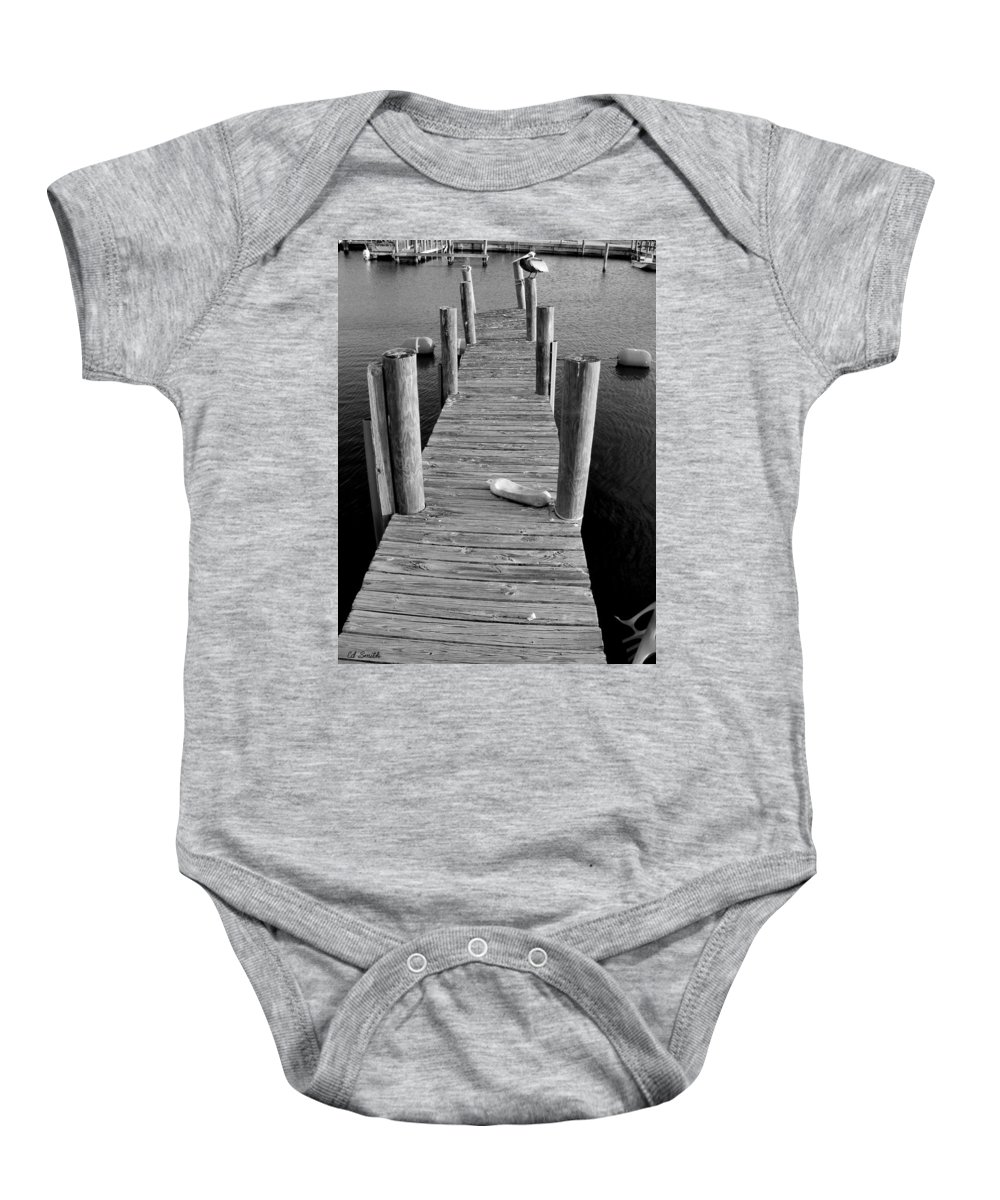 A Heavy Weight Baby Onesie featuring the photograph A Heavy Weight by Ed Smith