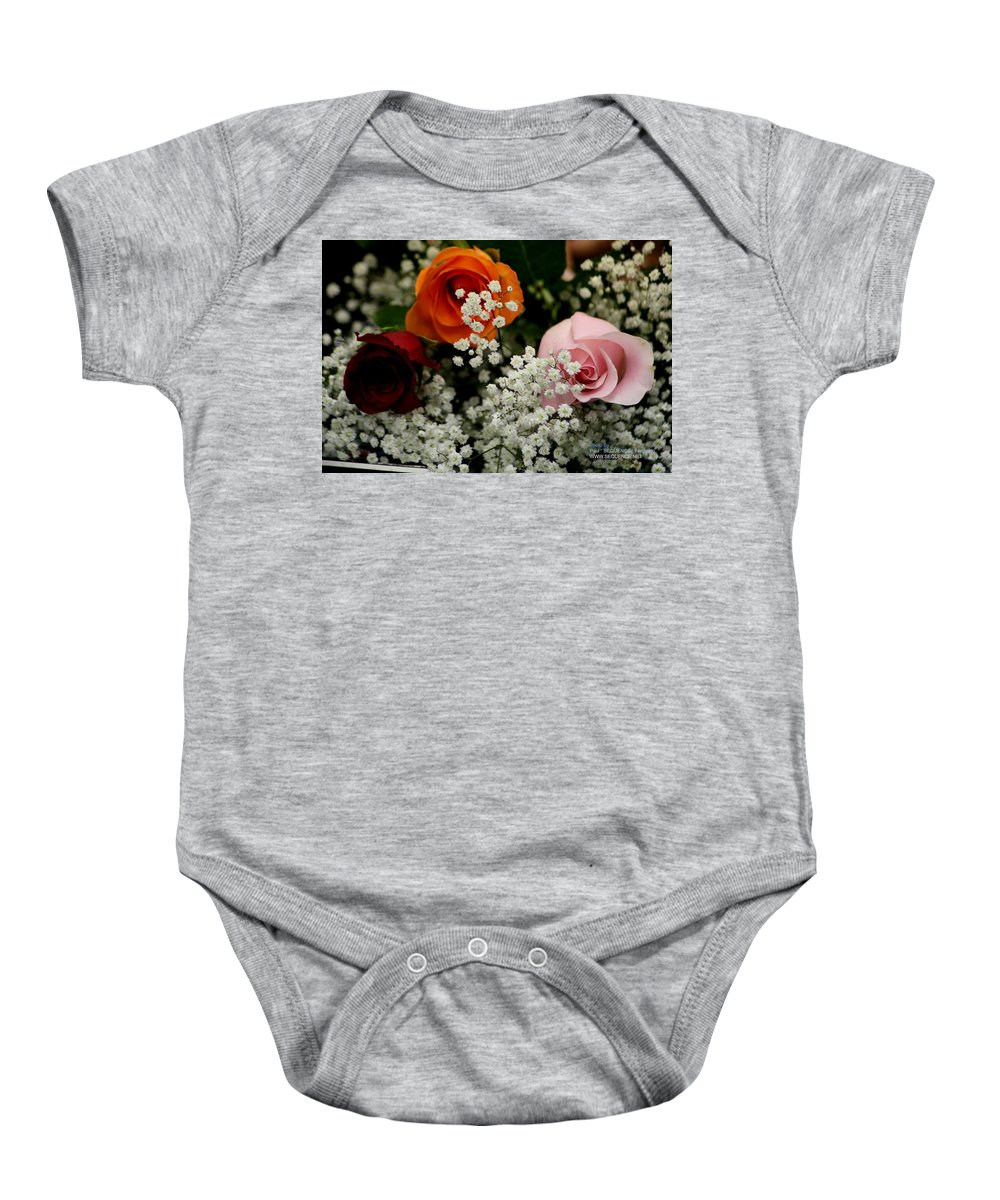 Rose Baby Onesie featuring the photograph A Rose To You by Paul SEQUENCE Ferguson       sequence dot net