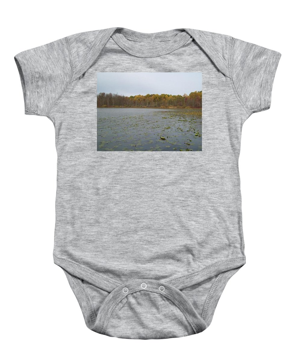Tmad Baby Onesie featuring the photograph A Step Back Into Time by Michael TMAD Finney