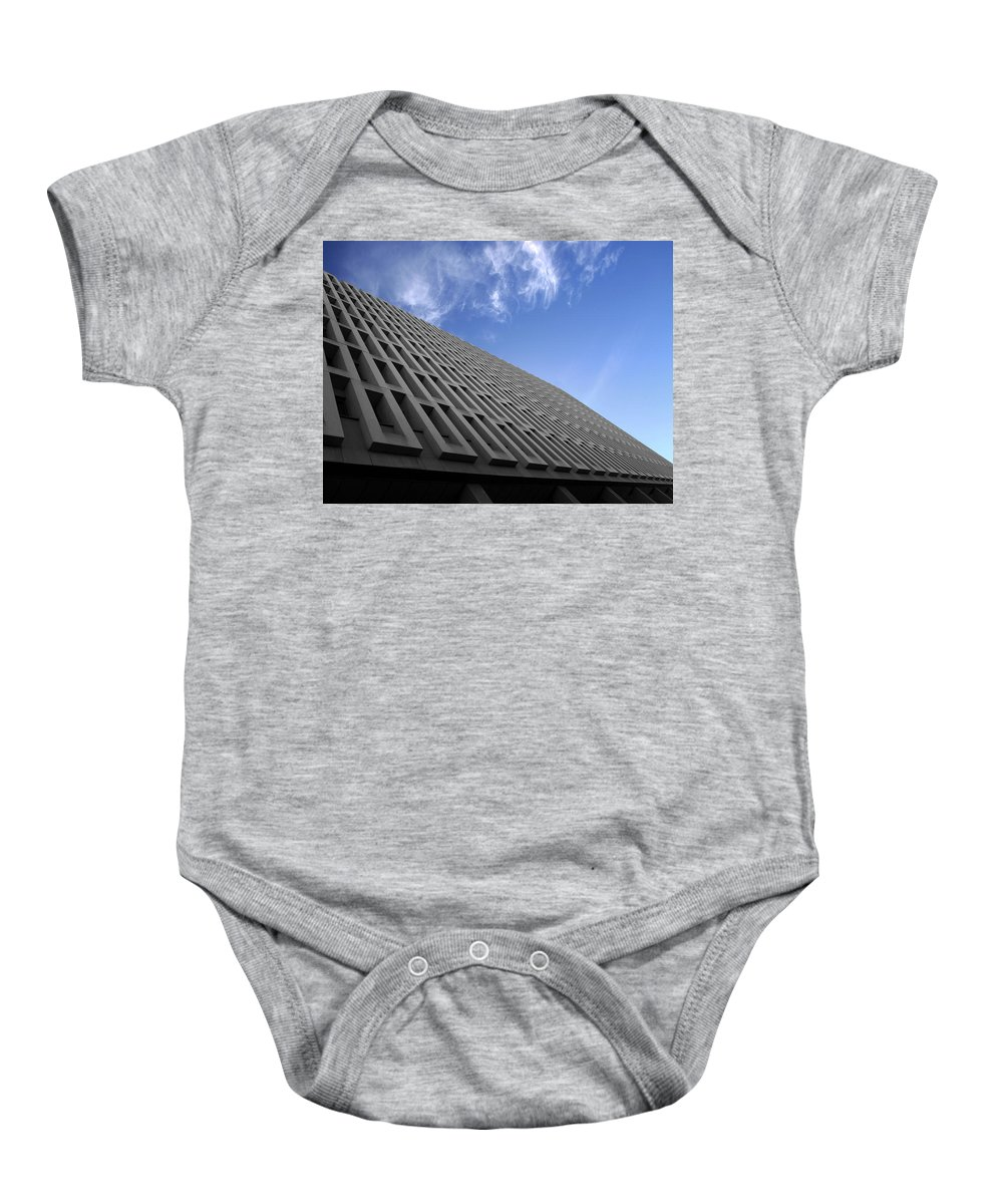 Building Baby Onesie featuring the photograph ABC by Kelly Jade King