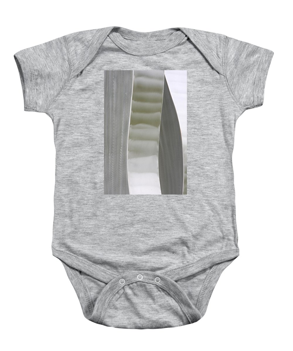 Abstracts Baby Onesie featuring the photograph Abstract Three Fine Art by James BO Insogna