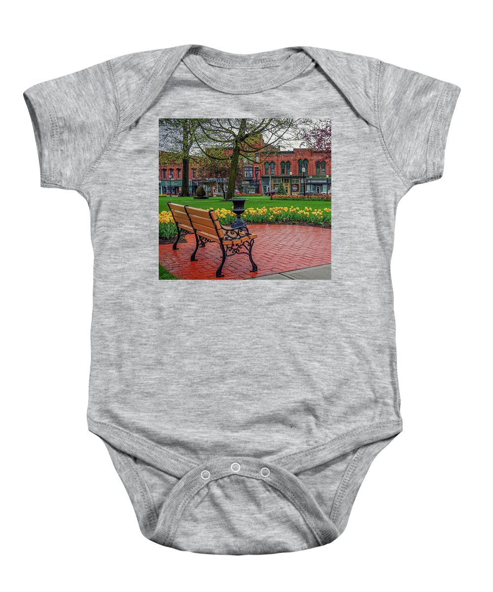 Baby Onesie featuring the photograph After The Spring Rain by Kendall McKernon