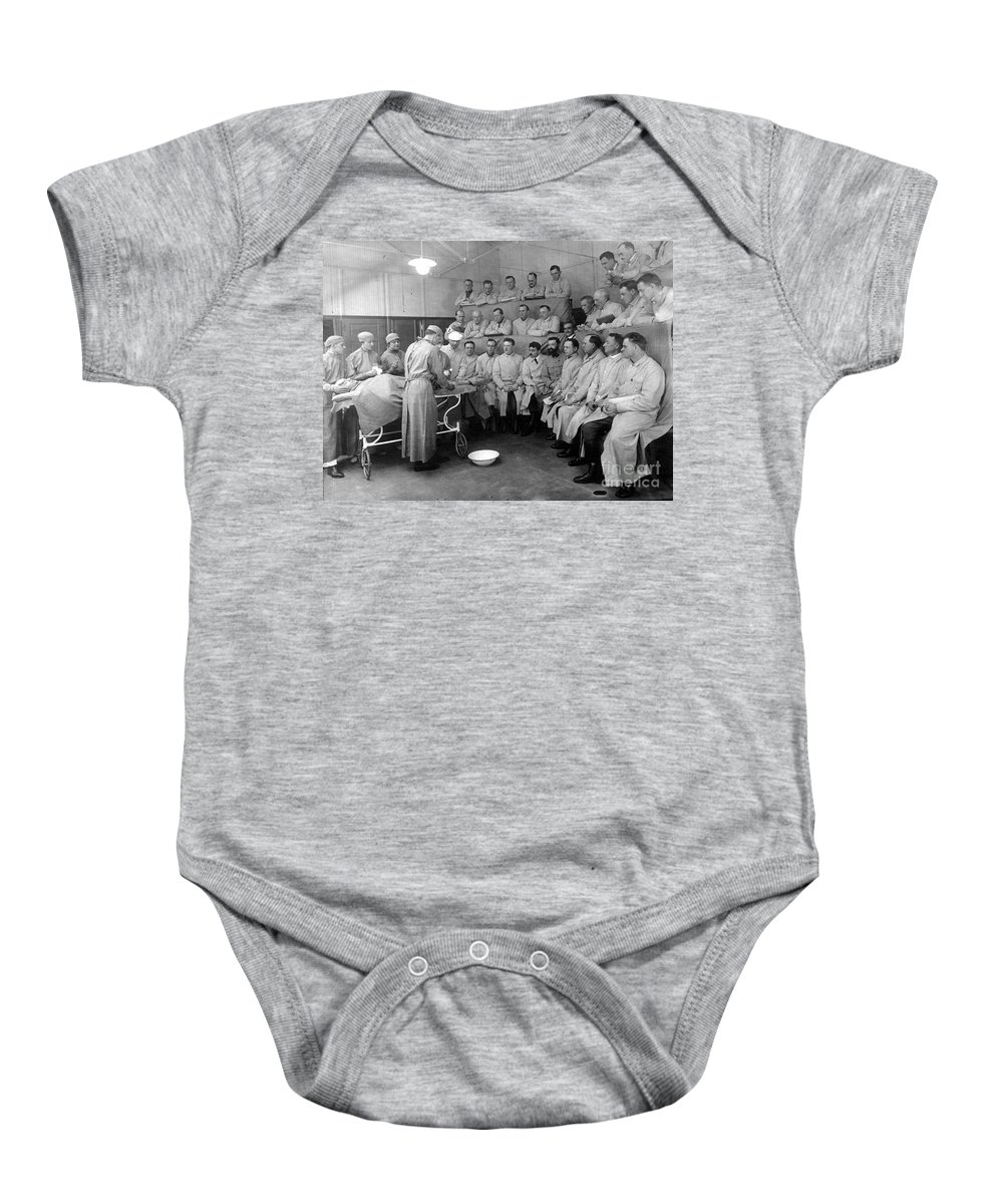 20th Century Baby Onesie featuring the photograph Alexis Carrel by Granger