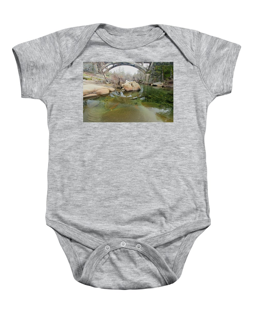 Architecture Baby Onesie featuring the photograph All Life Is A Canvas by Sean Sarsfield