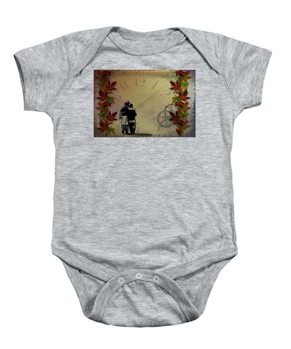 Children Baby Onesie featuring the photograph All The Time In The World by Bill Cannon