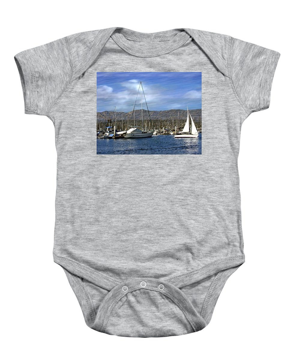 Ocean Baby Onesie featuring the photograph Another Sunny Day by Kurt Van Wagner