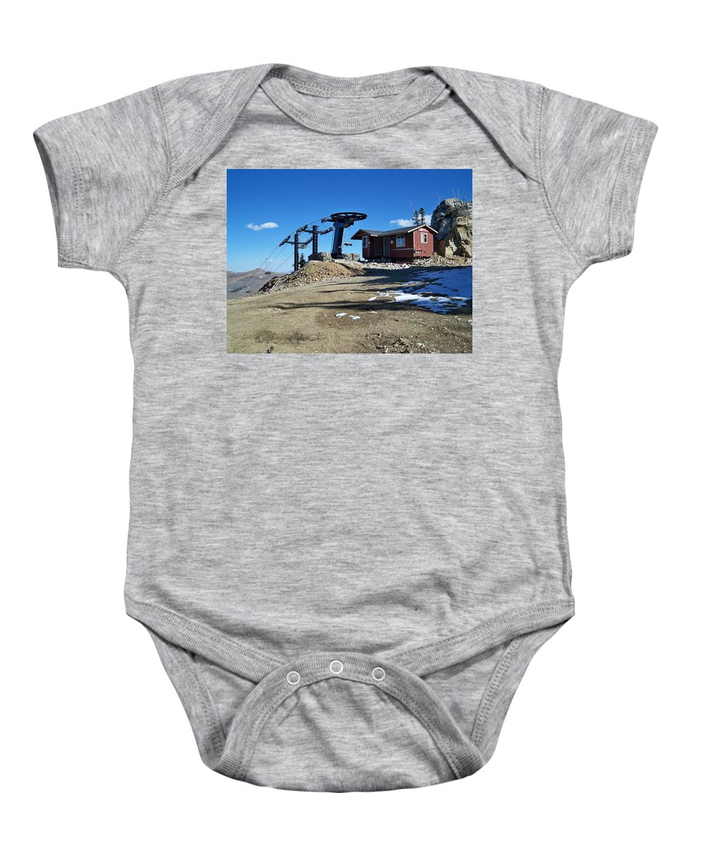 Landscape Baby Onesie featuring the photograph Anticipation by Michael Cuozzo