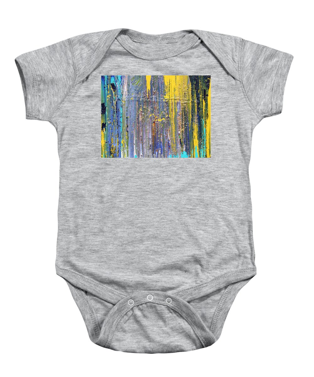 Fusionart Baby Onesie featuring the painting Arachnid by Ralph White
