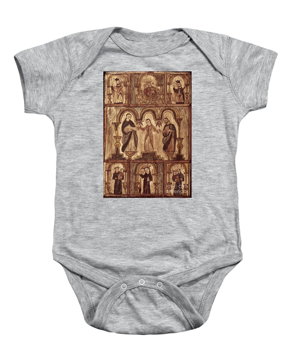 1820s Baby Onesie featuring the photograph Aragon: Jesus & Disciples by Granger
