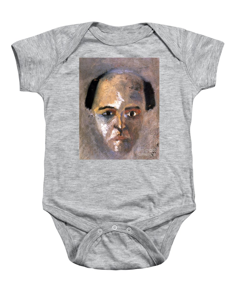1910 Baby Onesie featuring the photograph Arnold Schoenberg by Granger