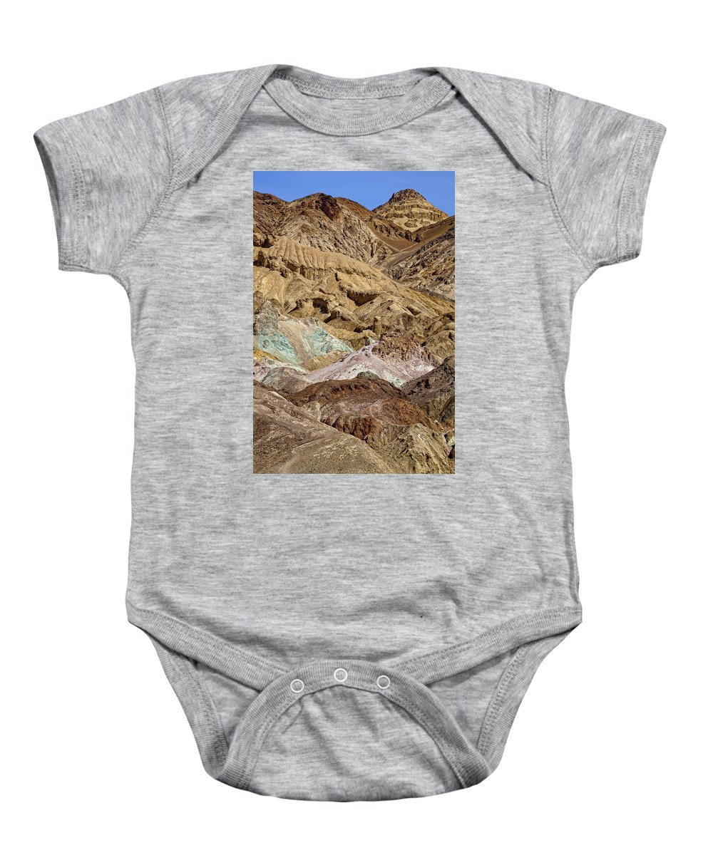 Artists Palette Baby Onesie featuring the photograph Artist's Palette by Kelley King