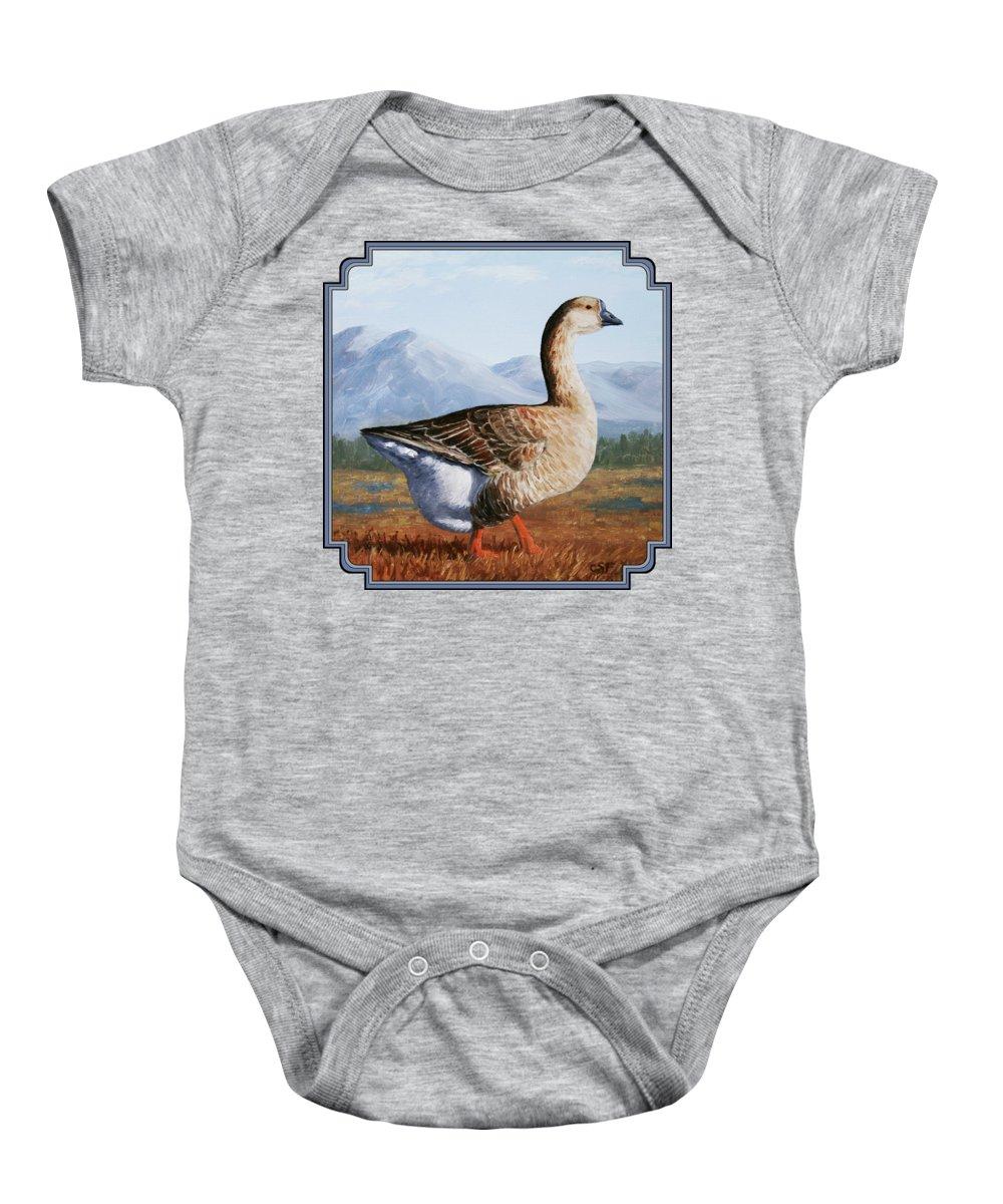 Geese Baby Onesies