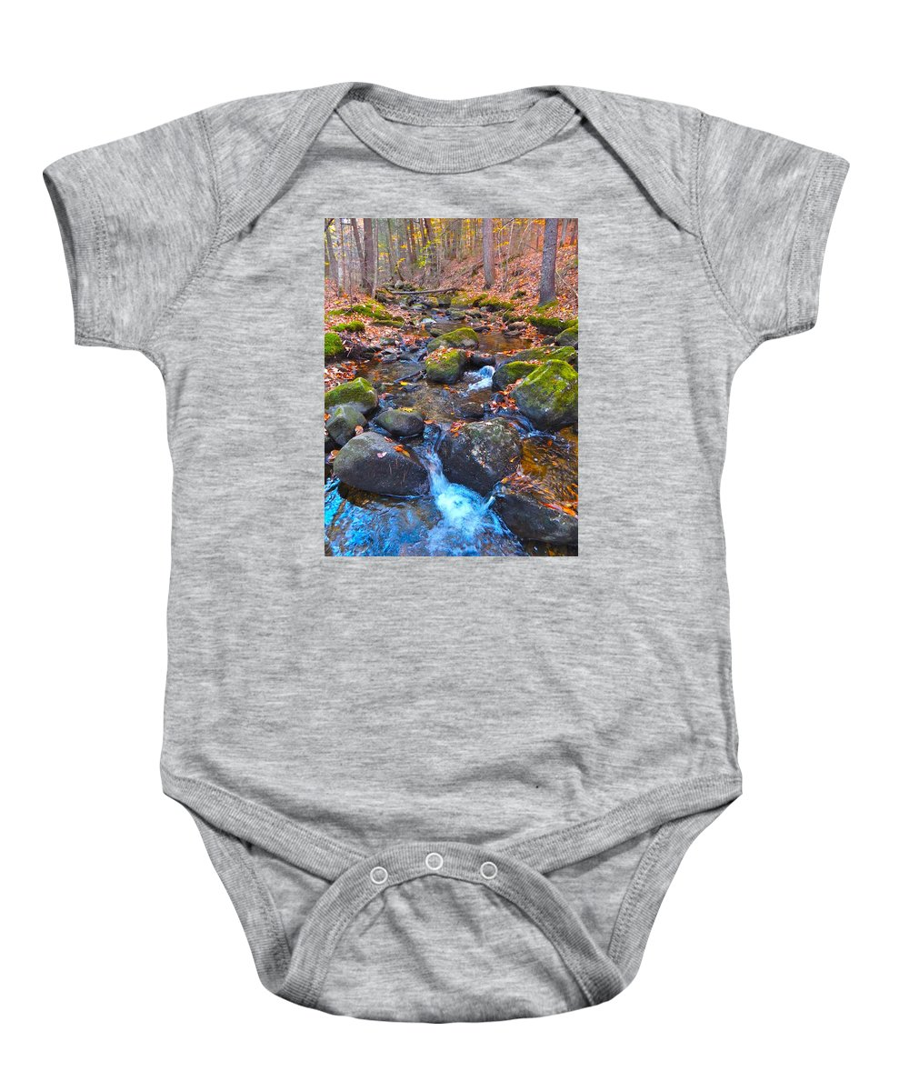 Autumn Landscape Baby Onesie featuring the photograph Autumn 2015 174 by George Ramos