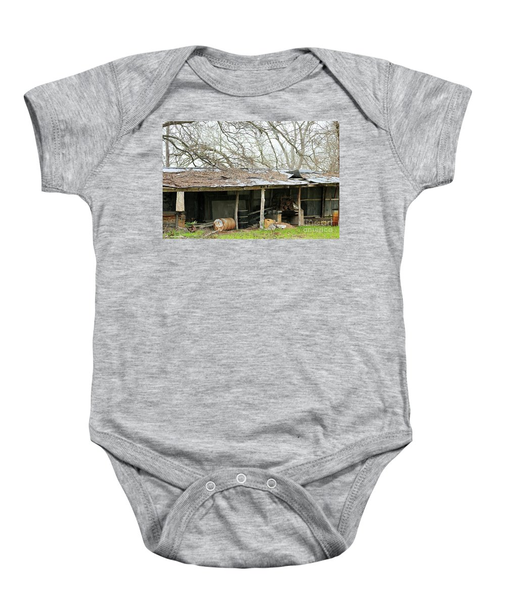 Baby Onesie featuring the photograph b8 by Jeff Downs