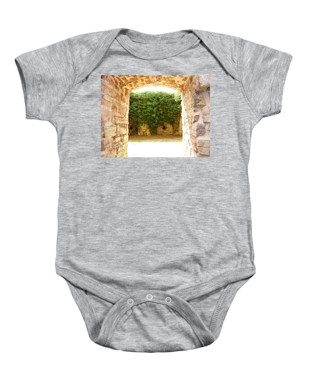 Backyard Baby Onesie featuring the photograph Backyard by Are Lund