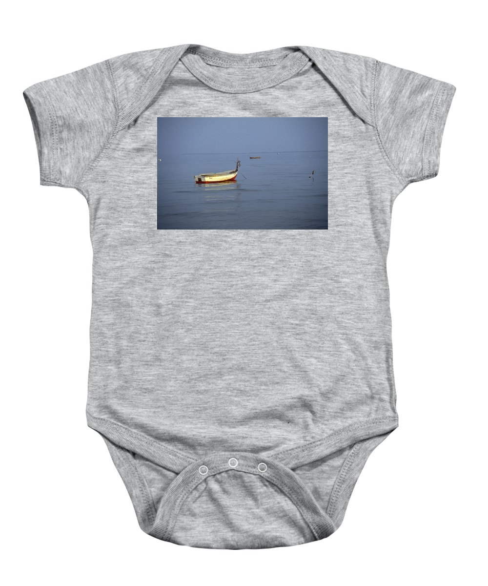 Baltic Sea Baby Onesie featuring the photograph Baltic Sea by Flavia Westerwelle