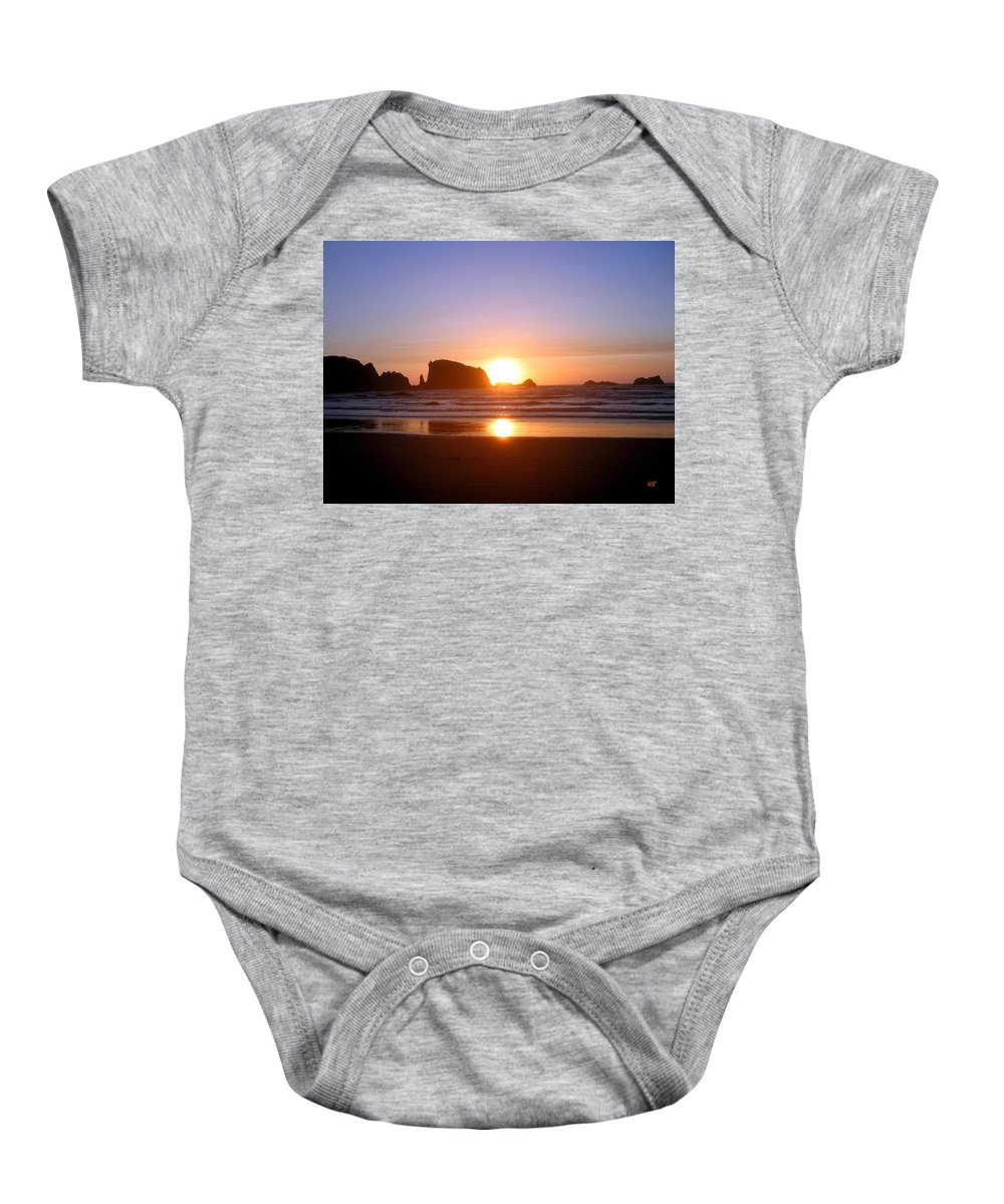 Bandon Baby Onesie featuring the photograph Bandon 7 by Will Borden