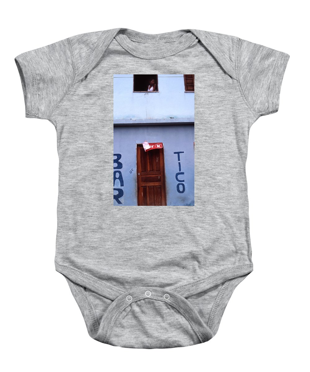 Lencois Baby Onesie featuring the photograph Bar Tico by Patrick Klauss