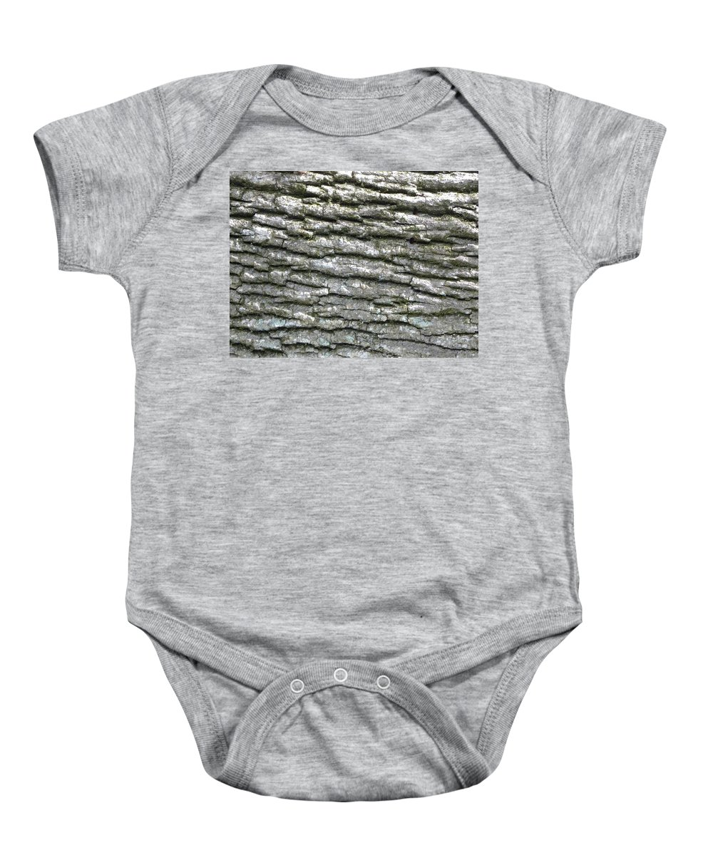 Tree Baby Onesie featuring the photograph Bark by Shannon Turek