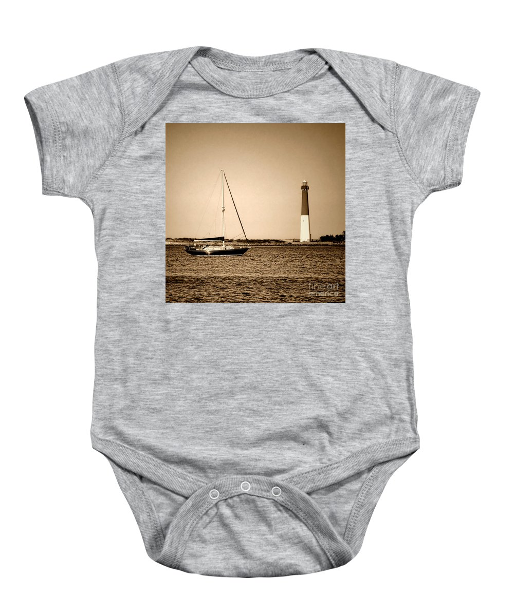 Barnegat Baby Onesie featuring the photograph Barnegat Memories by Olivier Le Queinec