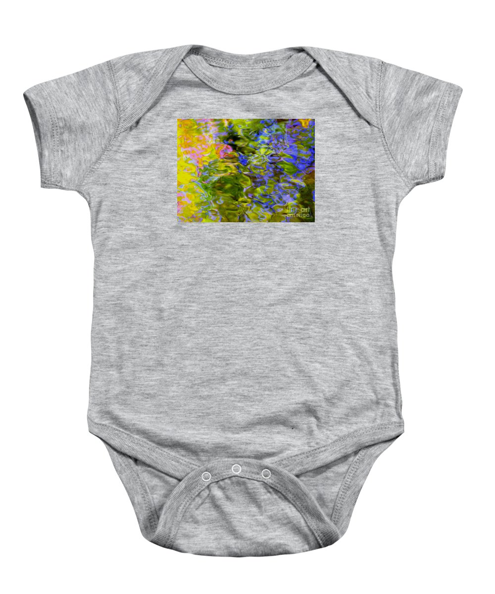 Abstract Baby Onesie featuring the photograph Potential Of The Cosmos by Sybil Staples
