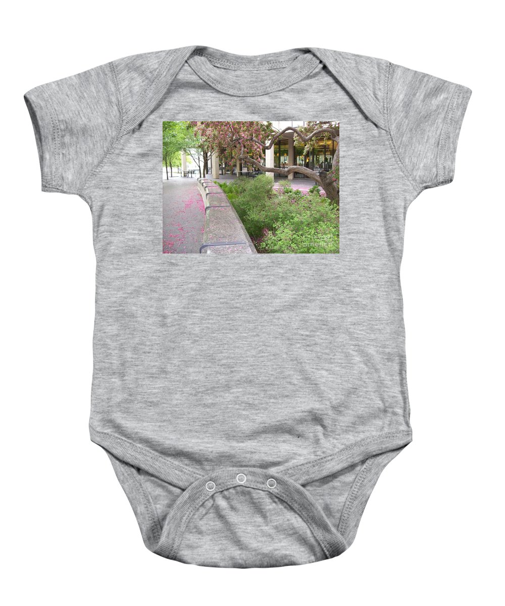 Nature Baby Onesie featuring the photograph Beauty In Spring by Mary Mikawoz