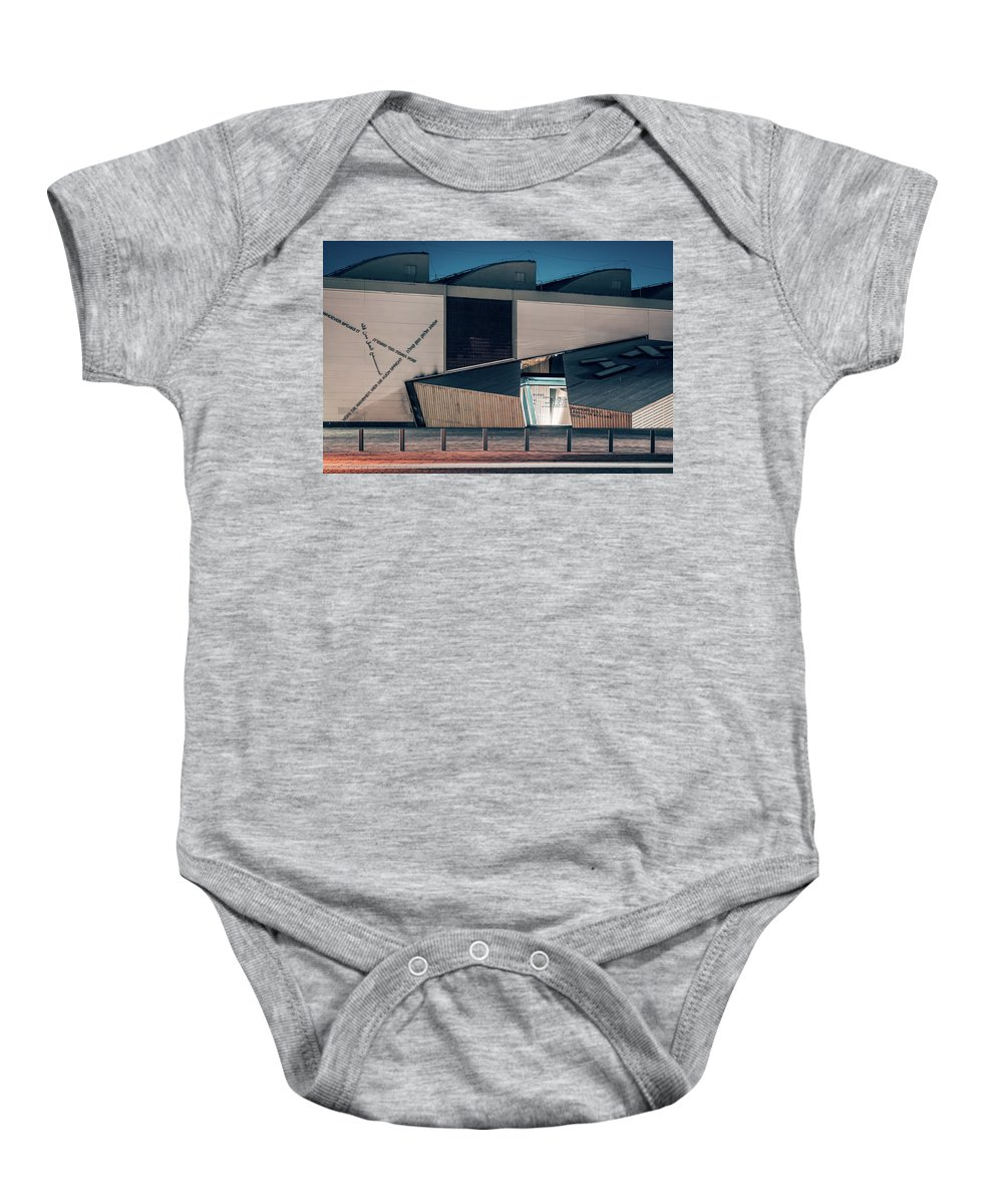 Berlin Baby Onesie featuring the photograph Berlin - Academy Of The Jewish Museum by Alexander Voss