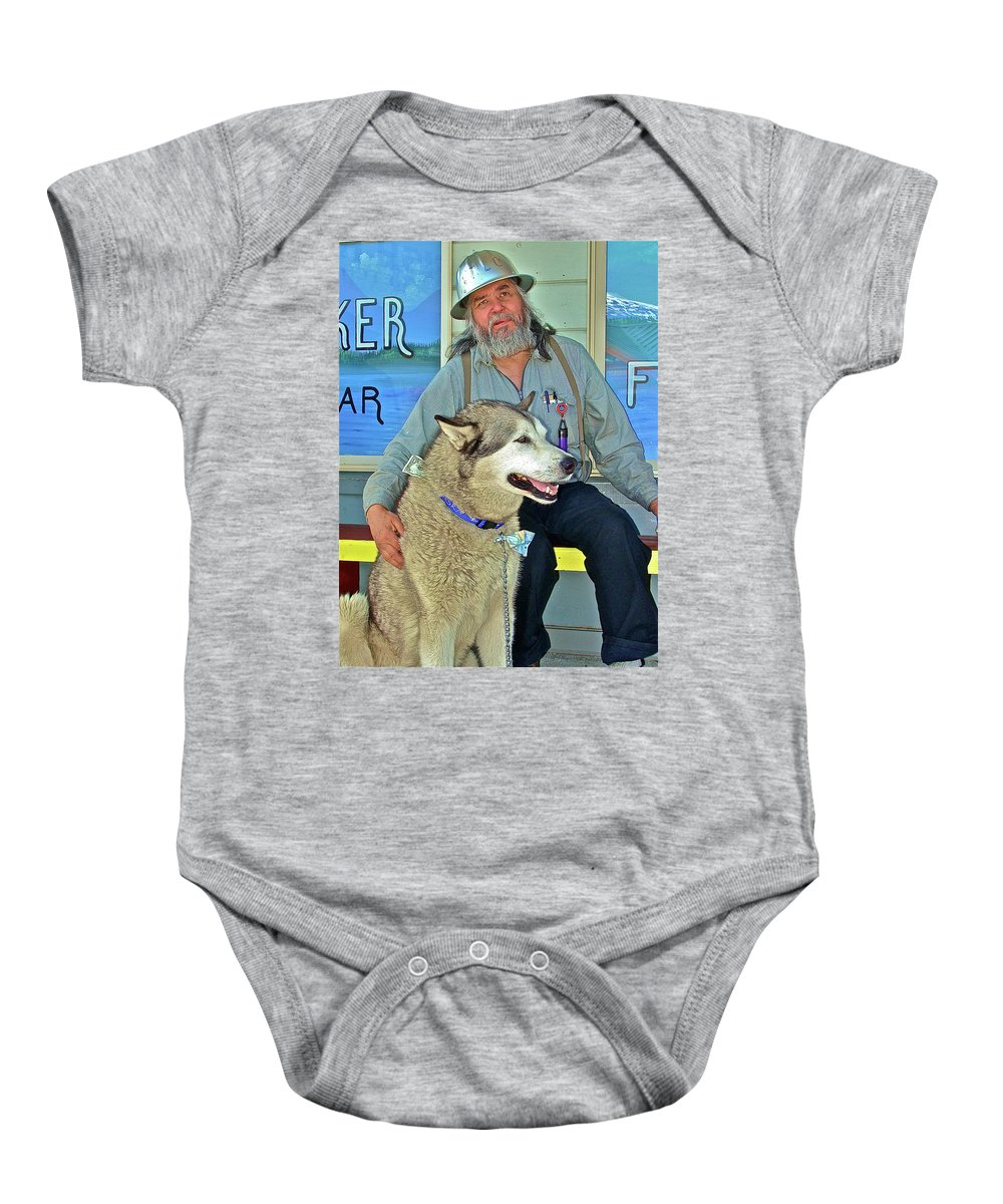 Pets Baby Onesie featuring the photograph Best Friend by Diana Hatcher