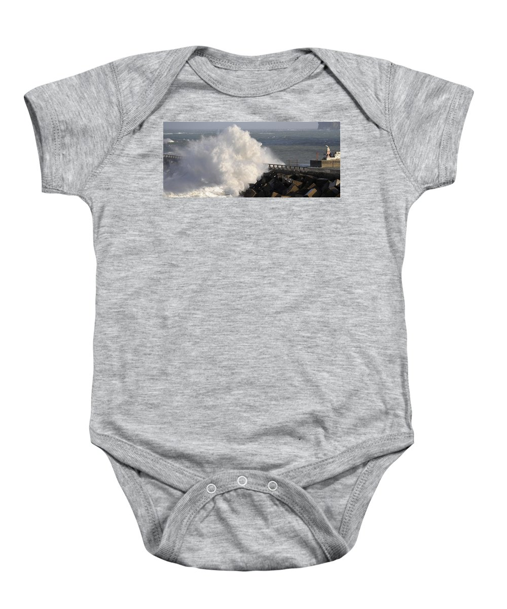 Spain Baby Onesie featuring the photograph Big Wave by Rafa Rivas